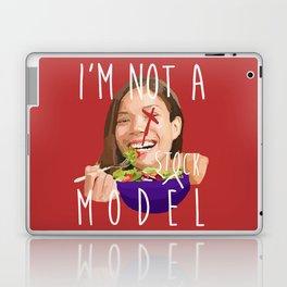 i'm not a (stock) model Laptop & iPad Skin