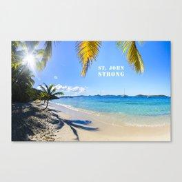 St. John Strong Canvas Print