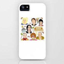Three's Company Universe iPhone Case