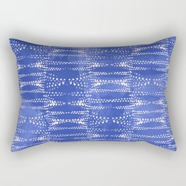 Dot Print - Periwinkle Rectangular Pillow