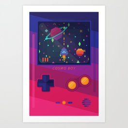 COSMO BOY Art Print