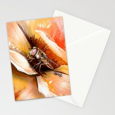 Fly on flower 8 Stationery Cards