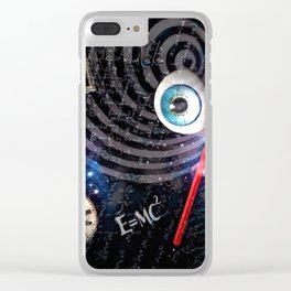 Zoned Out Clear iPhone Case