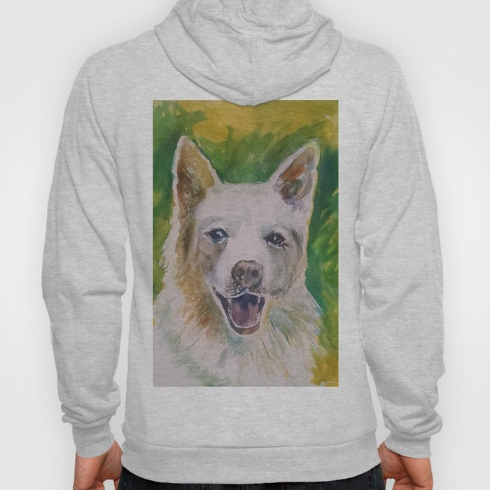 Green Dog Hoody