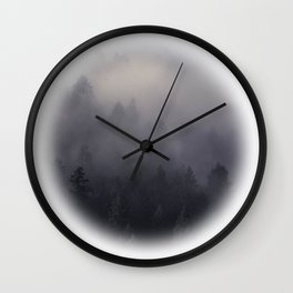Eagle Mist Wall Clock