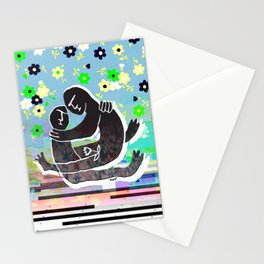 Moonflower Warrior Stationery Cards
