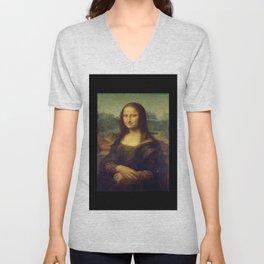 Leonardo da Vinci -Mona lisa - Unisex V-Neck