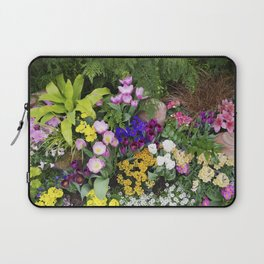 Floral Spectacular - Spring Flower Show Laptop Sleeve