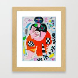 On Your Biscuit Framed Art Print