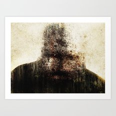 mr. self destruct Art Print
