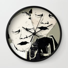 « s'aimer fort » Wall Clock