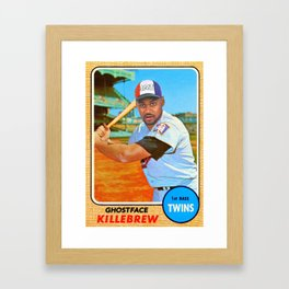 Ghostface Killebrew Framed Art Print