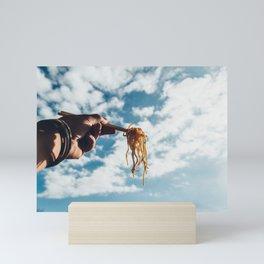 Soba! Fly high up! Mini Art Print