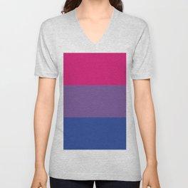 Bisexual Pride Unisex V-Neck