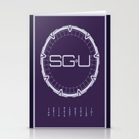 stargate Stationery Cards featuring Stargate Universe by Winter Graphics