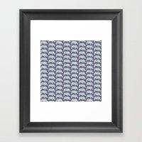 speckled rhinos Framed Art Print