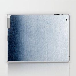 Indigo Vertical Blur Abstract Laptop & iPad Skin