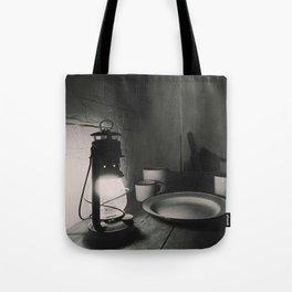 Victorian lamp Tote Bag