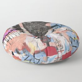 Play Play Play Floor Pillow