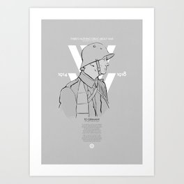 WW1 Centenary Art Print