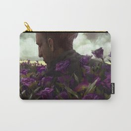 Isaac lisianthus Carry-All Pouch