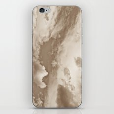 Sepia Summer Skies iPhone & iPod Skin