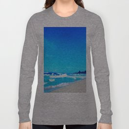 Carribean Coast Long Sleeve T-shirt