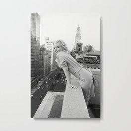 Marylin Monroe Metal Print
