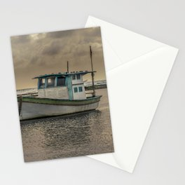 Small Old Ship at Ocean Porto Galinhas Brazil Stationery Cards