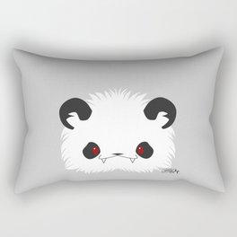 Spoopy Giant Panda Disguise Rectangular Pillow