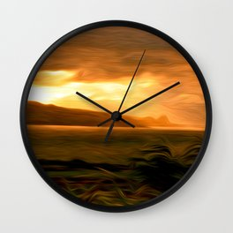 Clearing Squall Wall Clock