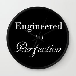 For the Engineer Wall Clock