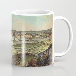 Aerial View of St. Paul, Minnesota (1874) Coffee Mug