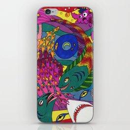 Eye of the Sea iPhone Skin