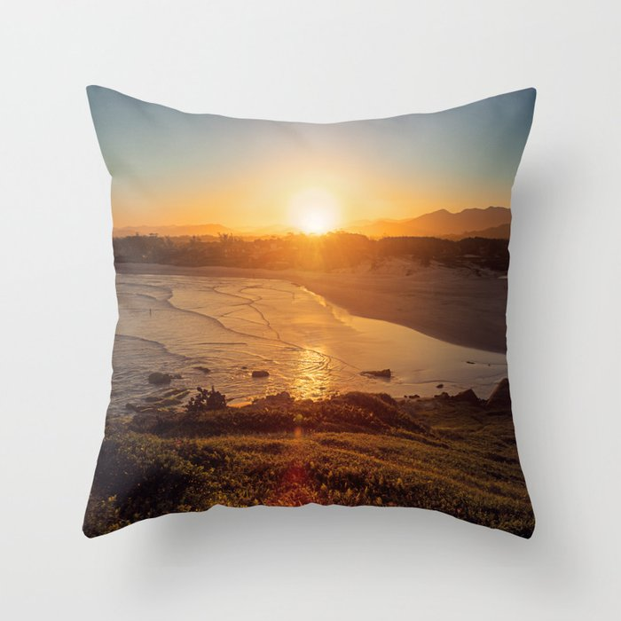 Lost in the Sunlight Throw Pillow