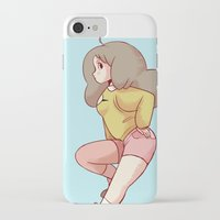 bee and puppycat iPhone & iPod Cases featuring Bee Bee Bee by JohannaTheMad
