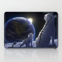 tigers iPad Cases featuring Moon Tigers by Chiakiro