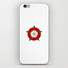 Tudor dynasty rose flag united kingdom great britain iPhone Skin