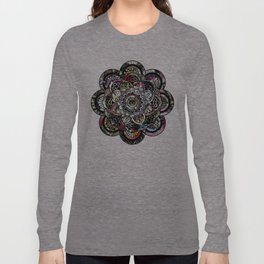 Mandala Montage Long Sleeve T-shirt