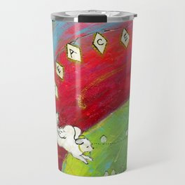 Lucy in the Sky with Diamonds Travel Mug