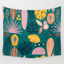 Jungle vibe Wall Tapestry