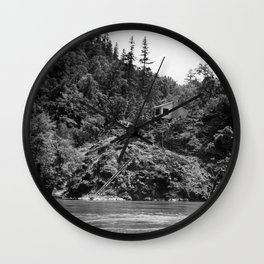 Spaatz-Eaker Mining Claim Cabin, Siskiyou National Forest, California, 1952 Wall Clock