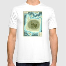 Popography: Finnjord White Mens Fitted Tee SMALL