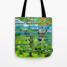 Landscape of My Heart (segment 2) Tote Bag