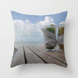 Heaven on a hot summer day..  Throw Pillow
