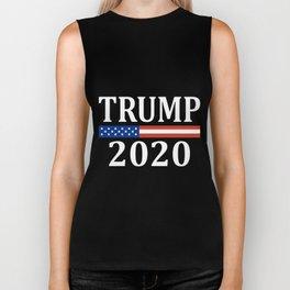trump 2020 american t-shirts Biker Tank