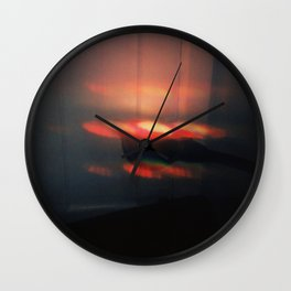Light Study, Red Wall Clock