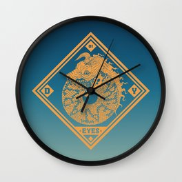 ART eat ART Wall Clock