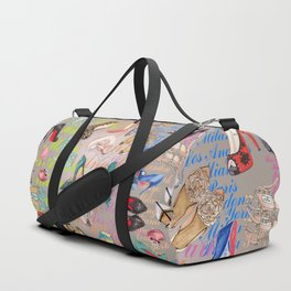 womens   shoes and travel Duffle Bag