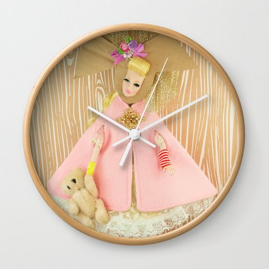 Carousel Of Color Wall Clock
